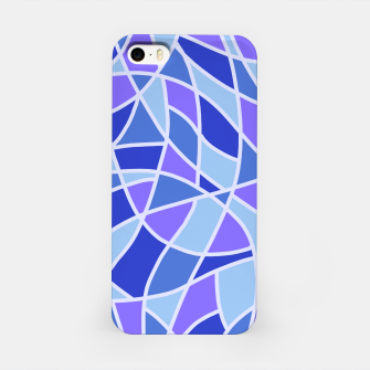 Miniatur Curved Mosaic 05 iPhone Case, Live Heroes