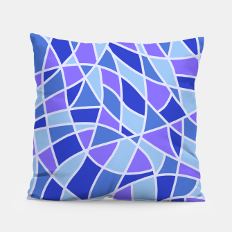 Miniatur Curved Mosaic 05 Pillow, Live Heroes