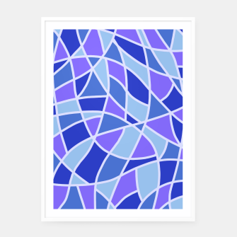 Thumbnail image of Curved Mosaic 05 Framed poster, Live Heroes