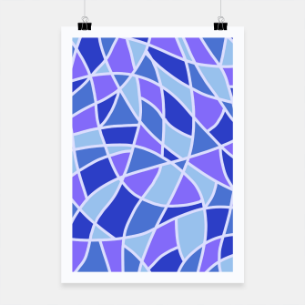 Thumbnail image of Curved Mosaic 05 Poster, Live Heroes