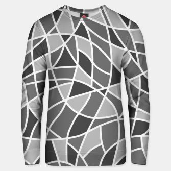 Miniatur Curved mosaic 06 Unisex sweater, Live Heroes