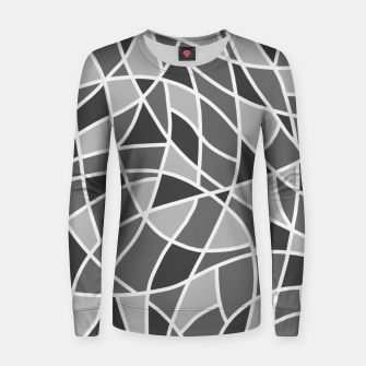 Miniatur Curved mosaic 06 Women sweater, Live Heroes