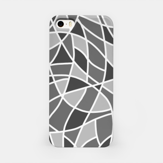 Miniatur Curved mosaic 06 iPhone Case, Live Heroes