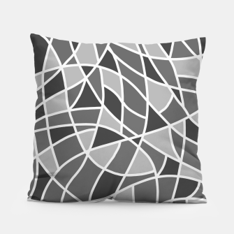 Miniatur Curved mosaic 06 Pillow, Live Heroes