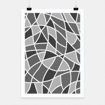 Thumbnail image of Curved mosaic 06 Poster, Live Heroes