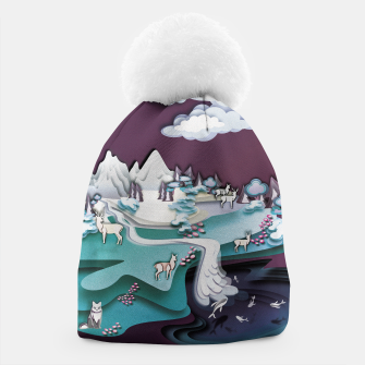 Paper Mountains Beanie thumbnail image