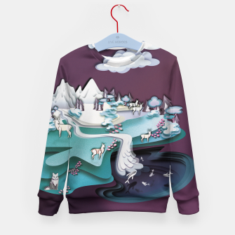 Paper Mountains Kid's sweater thumbnail image