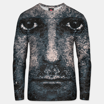 Thumbnail image of Foam Man Photo Manipulation Art Unisex sweater, Live Heroes