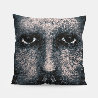 Thumbnail image of Foam Man Photo Manipulation Art Pillow, Live Heroes