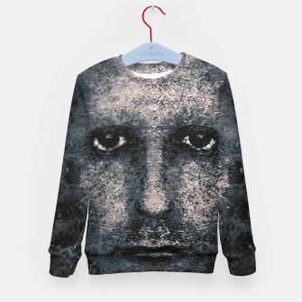 Thumbnail image of Foam Man Photo Manipulation Art Kid's sweater, Live Heroes