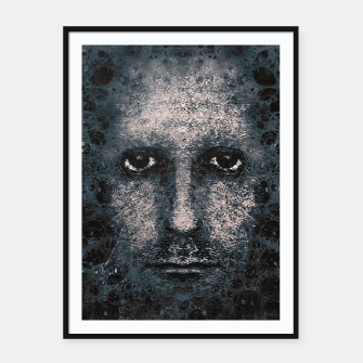 Thumbnail image of Foam Man Photo Manipulation Art Framed poster, Live Heroes