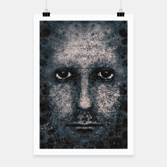 Thumbnail image of Foam Man Photo Manipulation Art Poster, Live Heroes