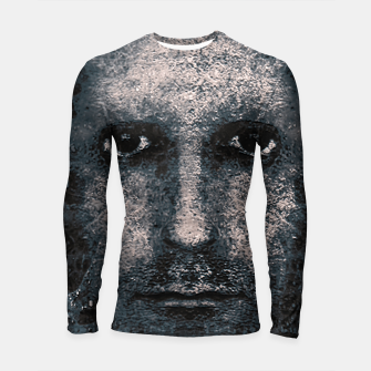 Thumbnail image of Foam Man Photo Manipulation Art Longsleeve rashguard , Live Heroes