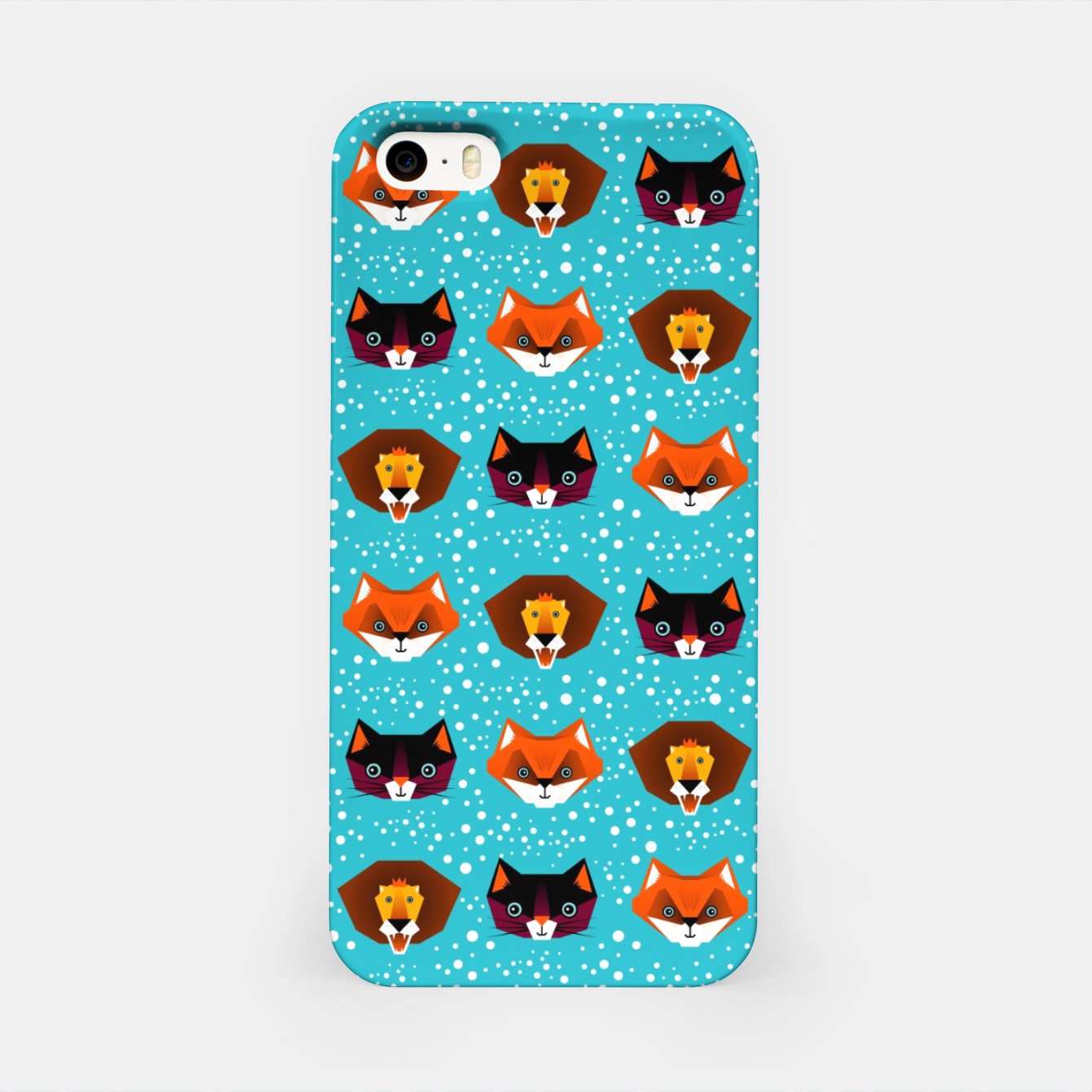 Image of Tangram Animals – iPhone Case - Live Heroes