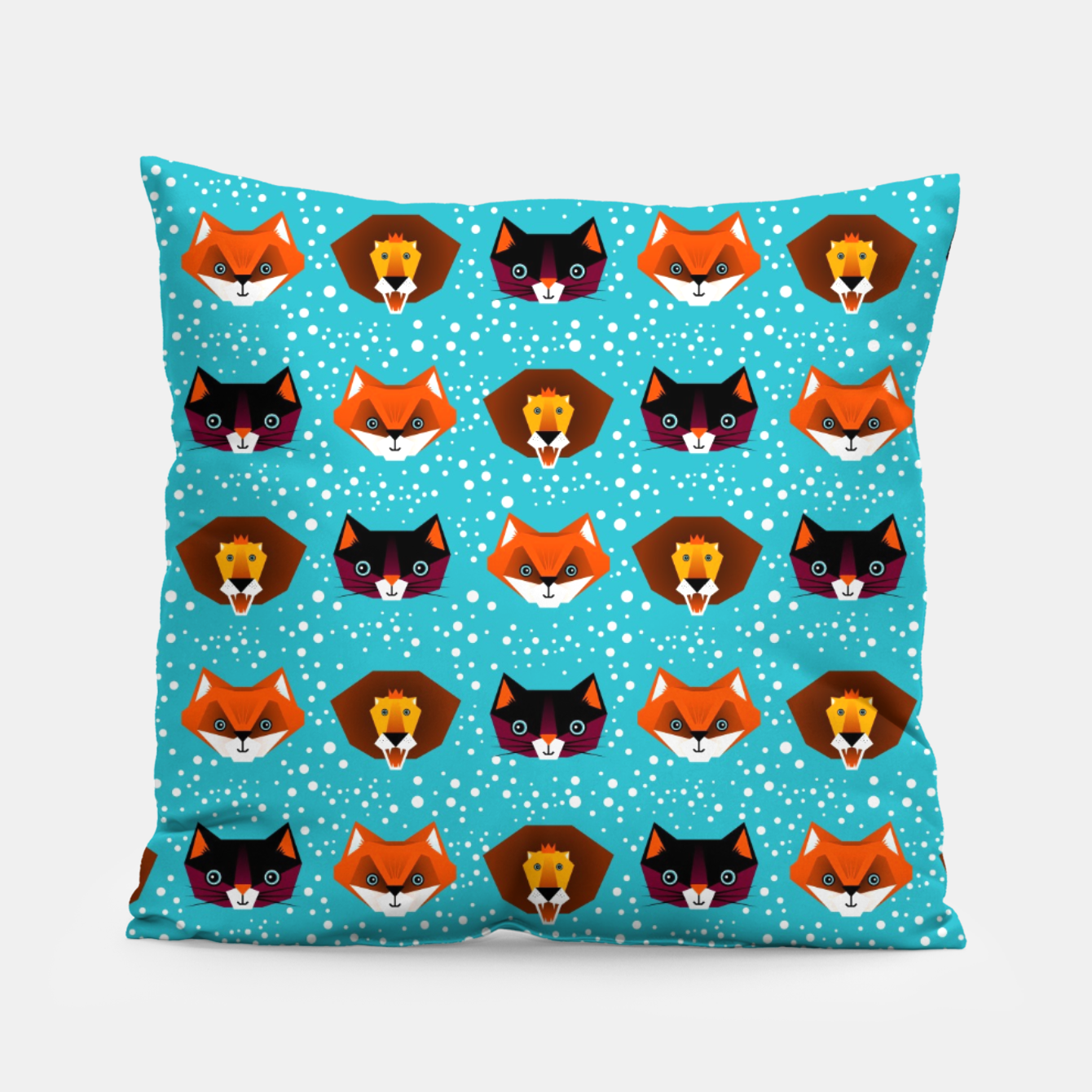 Image of Tangram Animals – Pillow - Live Heroes