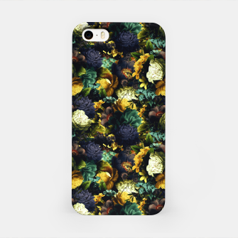 Miniatur melancholy flowers small seamless pattern 01 tension green iPhone Case, Live Heroes