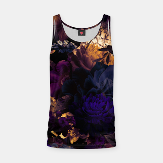 Miniatur melancholy flowers big seamless pattern 01 late sunset Tank Top, Live Heroes