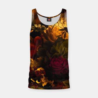 Miniatur melancholy flowers big seamless pattern 01 edgy ember Tank Top, Live Heroes