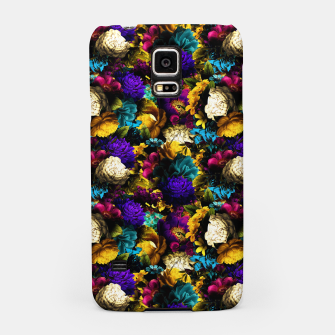 Miniatur melancholy flowers small seamless pattern 01 Samsung Case, Live Heroes