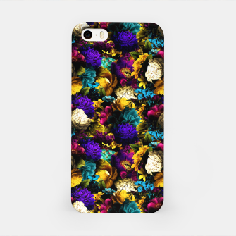 Miniatur melancholy flowers small seamless pattern 01 iPhone Case, Live Heroes