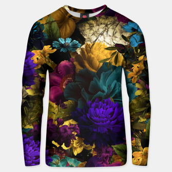 Miniatur melancholy flowers big seamless pattern 01 Unisex sweater, Live Heroes
