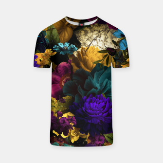 Thumbnail image of melancholy flowers big seamless pattern 01 T-shirt, Live Heroes