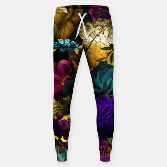 Miniatur melancholy flowers big seamless pattern 01 Sweatpants, Live Heroes