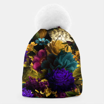 Thumbnail image of melancholy flowers big seamless pattern 01 Beanie, Live Heroes