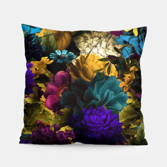 Miniatur melancholy flowers big seamless pattern 01 Pillow, Live Heroes