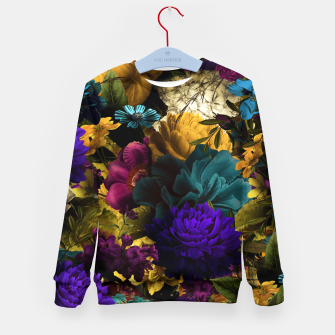Thumbnail image of melancholy flowers big seamless pattern 01 Kid's sweater, Live Heroes