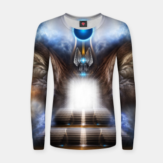 Thumbnail image of The Temple Of Heaven Women sweater, Live Heroes