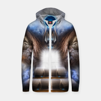 Imagen en miniatura de The Temple Of Heaven Zip up hoodie, Live Heroes