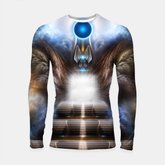 Thumbnail image of The Temple Of Heaven Longsleeve rashguard , Live Heroes