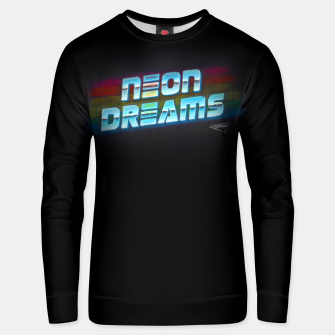 Thumbnail image of Neon Dreams Unisex sweater, Live Heroes