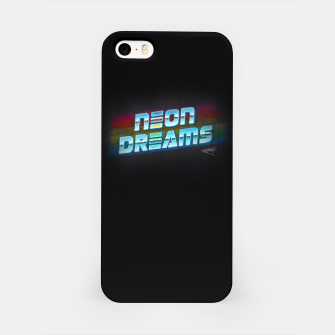 Thumbnail image of Neon Dreams iPhone Case, Live Heroes