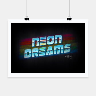 Thumbnail image of Neon Dreams Poster, Live Heroes