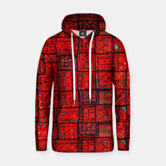 Miniaturka Lovely Red Traditional Moroccan Pattern Artwork. Hoodie, Live Heroes
