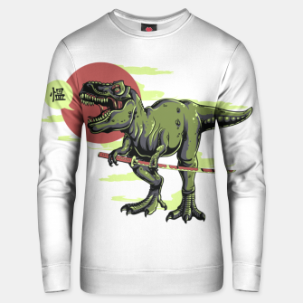 Thumbnail image of The Last Samurai in Dinosaurs. Unisex sweater, Live Heroes