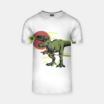 Thumbnail image of The Last Samurai in Dinosaurs. T-shirt, Live Heroes