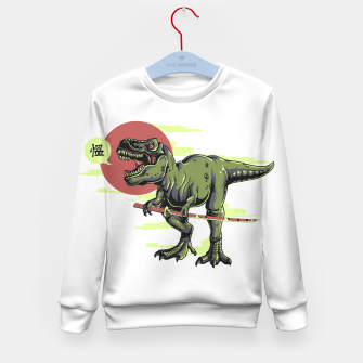 Miniatur The Last Samurai in Dinosaurs. Kid's sweater, Live Heroes