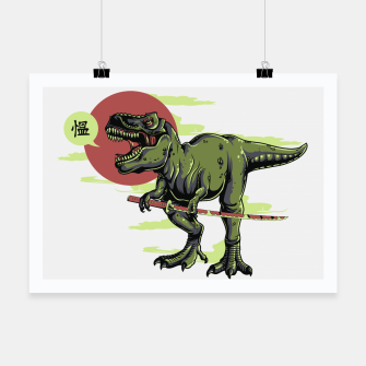 Thumbnail image of The Last Samurai in Dinosaurs. Poster, Live Heroes