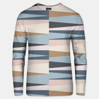 Thumbnail image of Scandinavian Geometry Pattern Blue #Homedecor Unisex sweater, Live Heroes