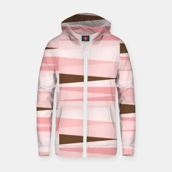Miniature de image de Scandinavian Geometry Pattern Pink #Homedecor Zip up hoodie, Live Heroes