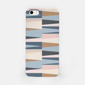 Imagen en miniatura de Scandinavian Geometry Pattern Blue #Homedecor iPhone Case, Live Heroes