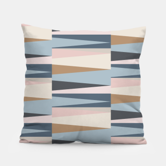 Imagen en miniatura de Scandinavian Geometry Pattern Blue #Homedecor Pillow, Live Heroes