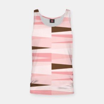 Thumbnail image of Scandinavian Geometry Pattern Pink #Homedecor Tank Top, Live Heroes