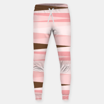Thumbnail image of Scandinavian Geometry Pattern Pink #Homedecor Sweatpants, Live Heroes