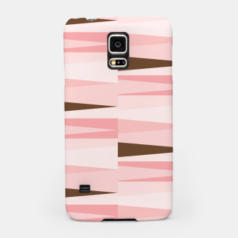 Thumbnail image of Scandinavian Geometry Pattern Pink #Homedecor Samsung Case, Live Heroes