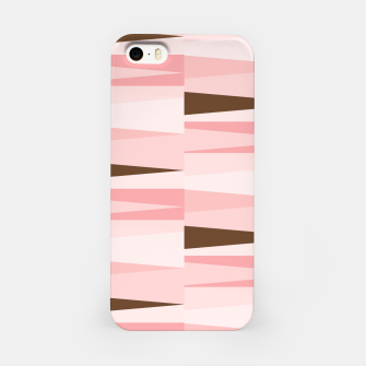 Miniaturka Scandinavian Geometry Pattern Pink #Homedecor iPhone Case, Live Heroes