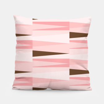 Miniaturka Scandinavian Geometry Pattern Pink #Homedecor Pillow, Live Heroes